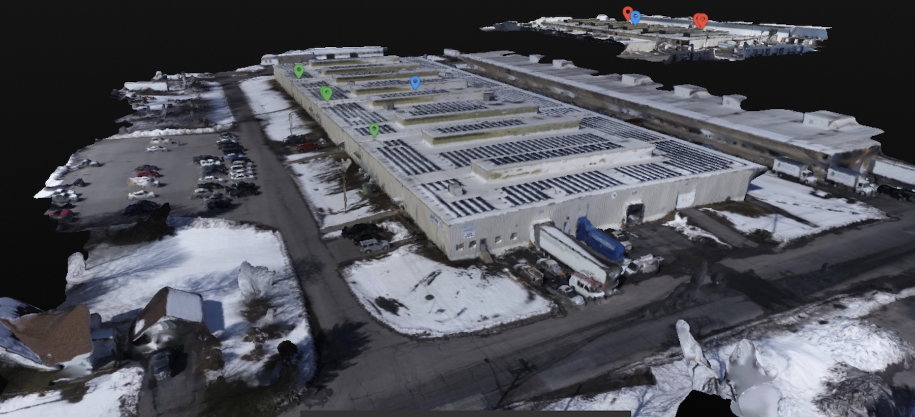 3D model, solar panels, inspections, aerial, drone